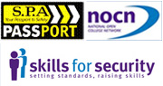 Training Courses approved by NOCN, SPA and Skills For Security